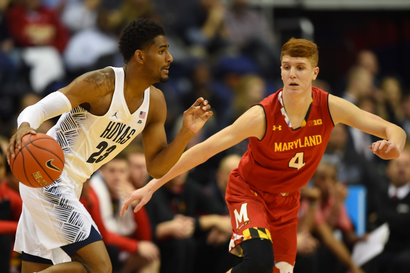 NCAA Basketball: Maryland at Georgetown